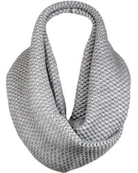Wilsons Leather - Famous Maker Honeycomb Knit Infinity Scarf - Lyst