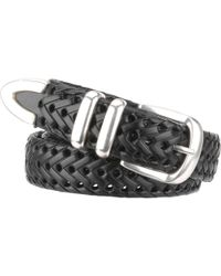 Wilsons Leather - Braided Leather Belt - Lyst