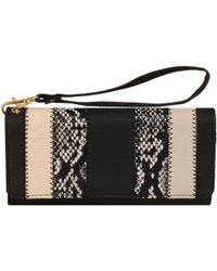 Wilsons Leather - Marc New York Flapover Wristlet Faux-leather Clutch - Lyst