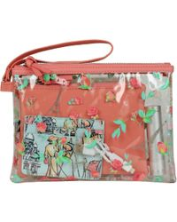 Wilsons Leather - Tech It Out 4-in-1 Faux-leather Wristlet - Eiffel Tower Floral - Lyst