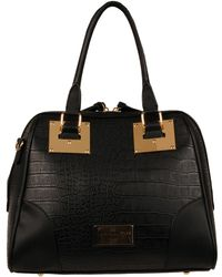 Wilsons Leather - Marc New York Croco Dome Faux-leather Satchel - Lyst