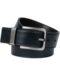 Wilsons Leather - Kenneth Cole Finished Buckle Reversible Belt - Lyst