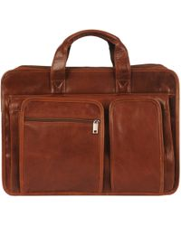 Wilsons Leather - Rugged Leather Double Front Pocket Brief - Lyst