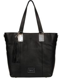 Wilsons Leather - Marc New York Leather Tote W/ Tassel - Lyst