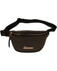 Wilsons Leather - Marc New York Micro Stud Faux-leather Fanny Pack - Lyst