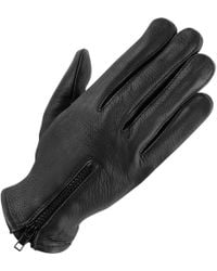 Wilsons Leather - Unlined Leather Driving Glove W/ Zipper - Lyst