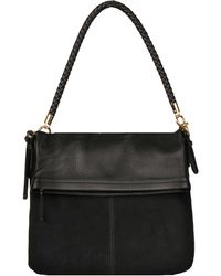 Wilsons Leather - Elena Leather And Suede Crossbody - Lyst
