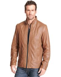 c0c8acb98 Wilsons Leather - Designer Brand Buttery Soft Genuine Leather Jacket - Lyst