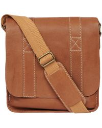 Wilsons Leather - Black Rivet Vacqueta Leather Tablet Bag - Lyst