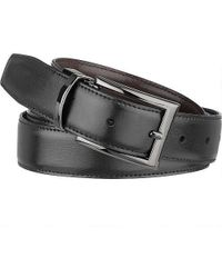 Wilsons Leather - Reversible Feather Edge Leather Belt - Lyst