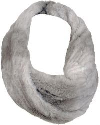 Wilsons Leather - Plush Ombre Faux-fur Infinity Scarf - Lyst