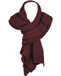 Wilsons Leather - Famous Maker Tiered Ruffle Scarf - Lyst