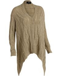 Wilsons Leather - Coalition La Solid Cable Knit Coatigan - Lyst