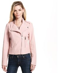 Wilsons Leather - Web Buster Asymmetrical Leather Jacket W/ Side Quilting - Lyst
