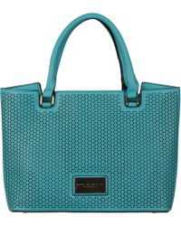 Wilsons Leather - Marc New York Perforated Faux-leather Tote - Lyst