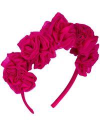 Vjera Vilicnik - Dianthus Headband Pink - Lyst