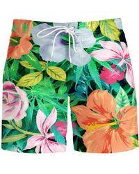 Aloha From Deer - Flowery Board Shorts - Lyst