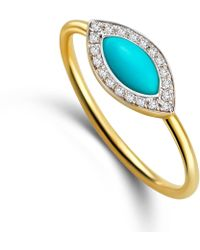 Elham & Issa Jewellery - Awe Eye Diamond Ring - Lyst