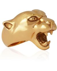 Strange Fruit - Panther Ring Gold - Lyst