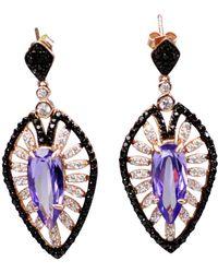 Bellus Domina - Amare Violet Earrings - Lyst