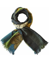 Furious Goose - Foxes Summer Reversible Long Scarf - Lyst