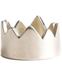 Serge Denimes - Spiked Crown Ring - Lyst