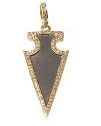 Ri Noor - Diamond Arrow Pendant - Lyst