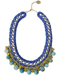 Ricardo Rodriguez Design - Agate Statment Necklace - Lyst