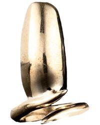 Bijules - Serpent Nail Ring - Lyst