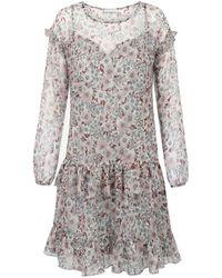 Ju Lovi - Monterey Silk Dress Floral - Lyst