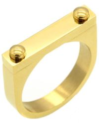 Opes Robur - Opes D2 Ring Gold - Lyst
