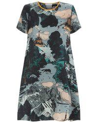 Klements - Frieda Dress In Le Mont Saint Michel Print - Lyst