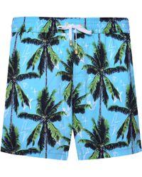 KLOTERS MILANO - Palms & Skulls Swim Shorts - Lyst