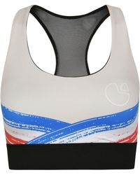 Pocket Sport - Impasto Support Sports Bra In Cream - Lyst