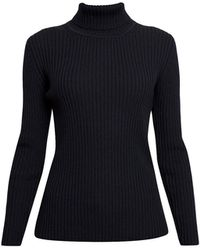 Rumour London - Mia Ribbed Turtleneck Sweater - Lyst