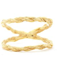 Chupi - We Are Twice As Strong Together Ring Gold - Lyst