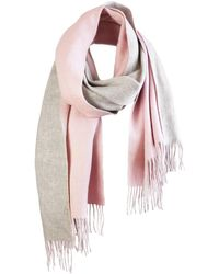 UnPaired - The Cozylab Oversized Merino Wool Scarf In Himalayan Salt - Lyst
