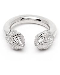 Durrah Jewelry - Silver Cylinder Ring - Lyst