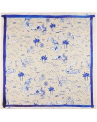 Klements - Square Scarf In Polynesia Print - Lyst