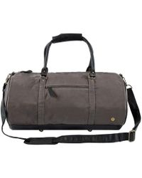 ad615dcf7c AllSaints Minato Waxed Brushed Canvas Duffle Bag in Green for Men - Lyst