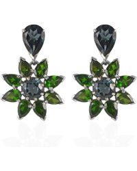 Emma Chapman Jewels - Wonder Blue Topaz Earrings - Lyst