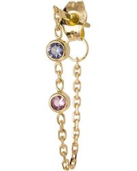 Irena Chmura Jewellery - Candy Sapphire Earring Single - Lyst