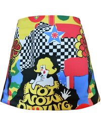 My Pair Of Jeans Darling Miniskirt - Multicolour
