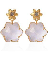 Emma Chapman Jewels - Sylvie Crystal Earrings - Lyst