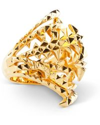 Kasun - The Blades Of Octopi Gold Ring - Lyst