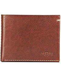 Jekyll & Hide - Zulu Bi Fold Wallet Coffee - Lyst