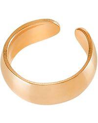 Dutch Basics - Small Ear Cuff Gold - Lyst