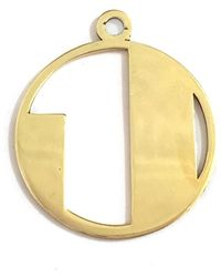 Alice Eden   Gold Deco Initial J Pendant Necklace   Lyst