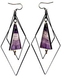 Tiana Jewel - Tempest Flourite Earrings Muret Collection - Lyst