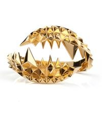 Kasun | Fang Bangle Gold | Lyst